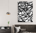 Modern printable wall art in black and white