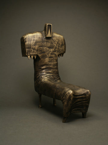 In The Throne | Bronze Sculpture