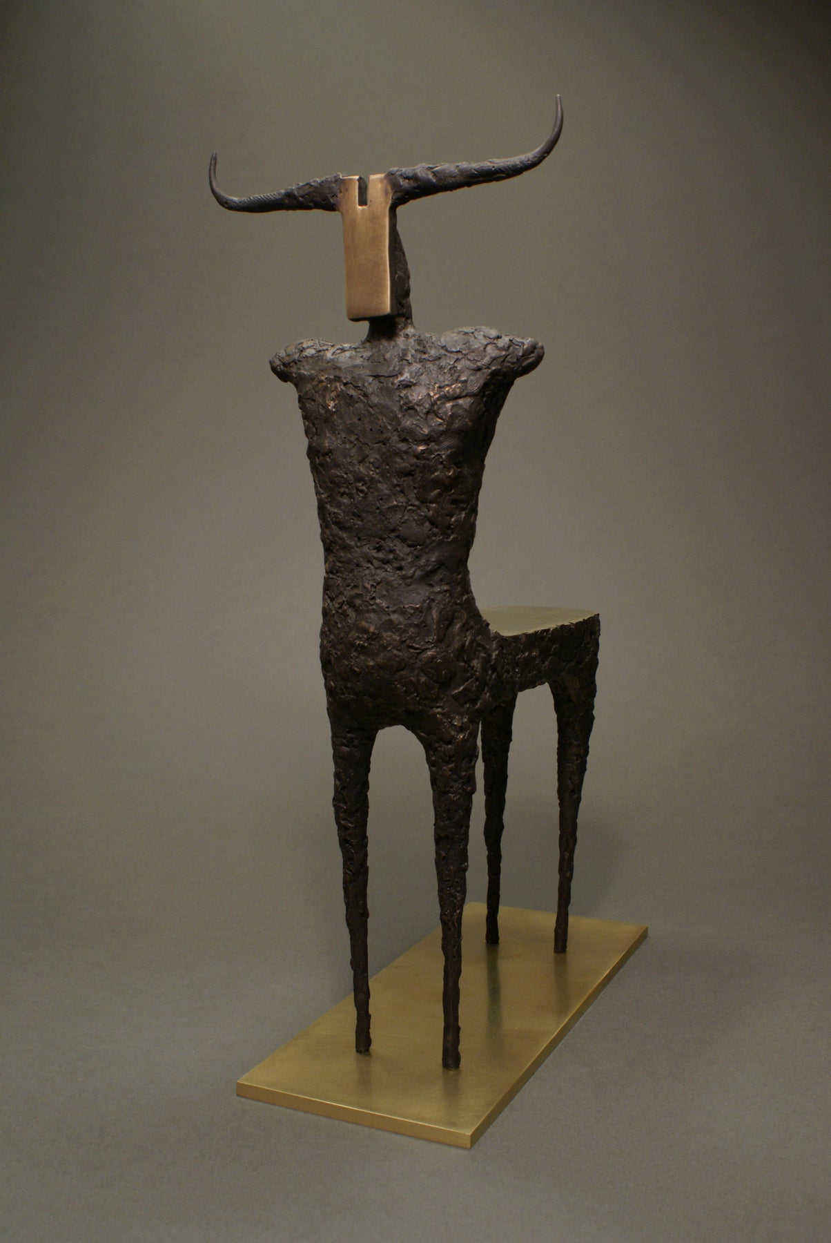 Minotaur Bronze Sculpture Art for Sale