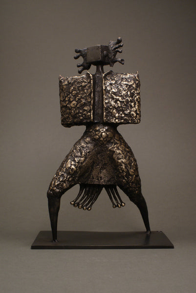 Bronze sculpture for sale - Shaman