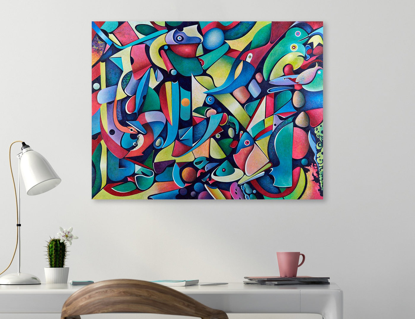 Contemporary art print