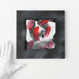 Small abstract art painting