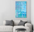 printable art blue painting