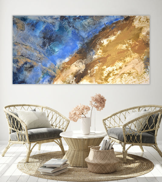 Large abstract landscape for sale