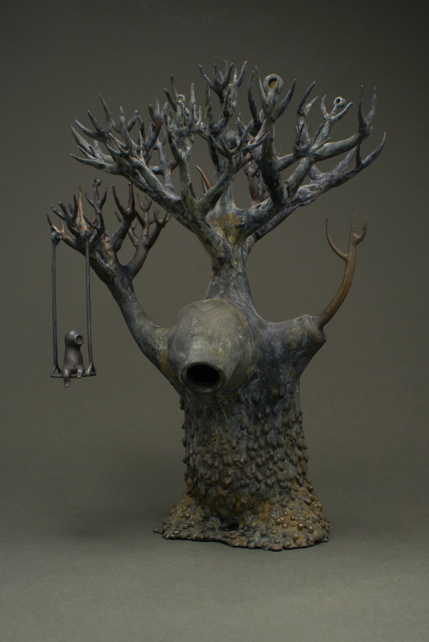 Surreal bronze sculpture for sale
