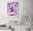 Free printable abstract painting