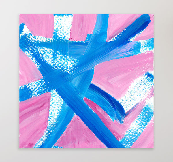 square printable abstract painting