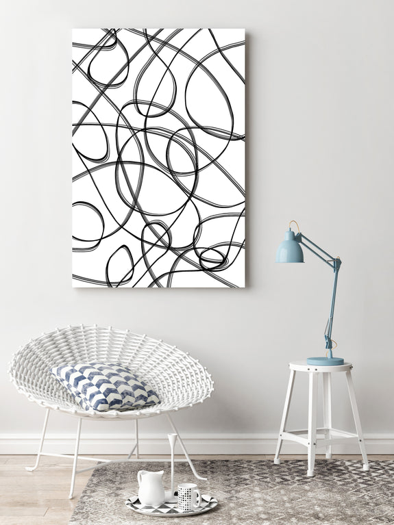 Free printable abstract linear wall art