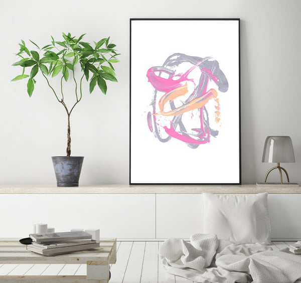printable abstract painting