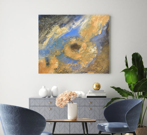 Abstract landscape painting for sale