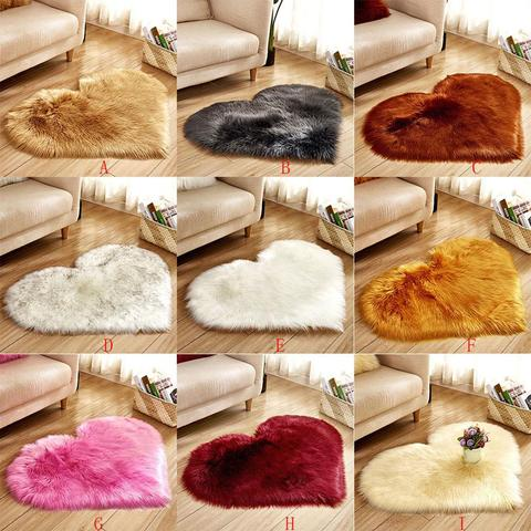 Sheepskin Fur Area Rug  - Several different colors available