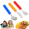 DIY Building Blocks™ Cutlery - Lego Style Stackable Cutlery (Set of 3)