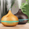 SoothingAir™ 300 - 300ml Wood Grain Essential Oil Diffuser Ultrasonic Air Humidifier