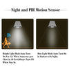 Night Hawk™ - Solar Powered Motion Sensor Light