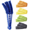VenetiaCleaner™ - Window Blind Cleaner Duster Brush with 5 Microfiber Sleeves