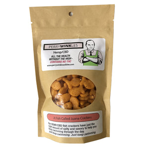 "PerryWinkles - Salty & Savory ""A Fish Called Juana Crackers"" Hemp/CBD 50 MG"