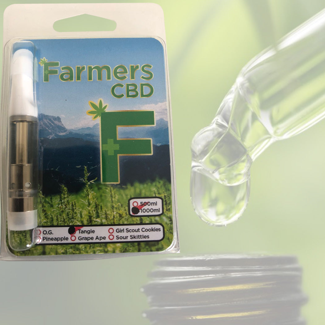 Farmers F Pluse CBD vaporize Pen Cartridge