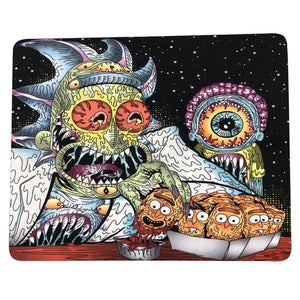 "12 Pcs Pack Of Dab Pads 8""x10"" Trippy Psychedelic Art God of Eye"