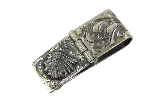 Engraved Hinged Sterling Money Clip