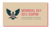 click here to activate the 20% memorial day coupon