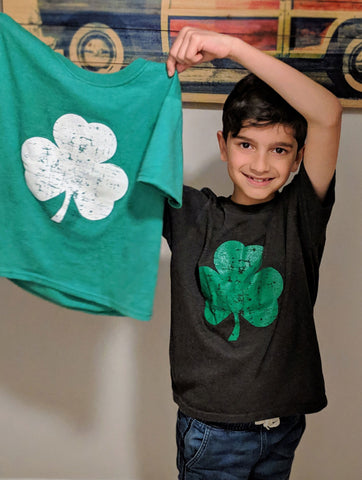 Shamrock tees by NYC Factory - Celebrate St Patricks Day in Style