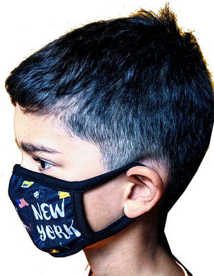 UItimate New York USA Kids Face Mask One Size Facemask