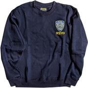 NYPD Men's Crewneck Sweatshirt Navy Blue Officially Licensed