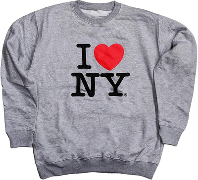 I Love NY Crewneck Sweatshirt Officially Licensed