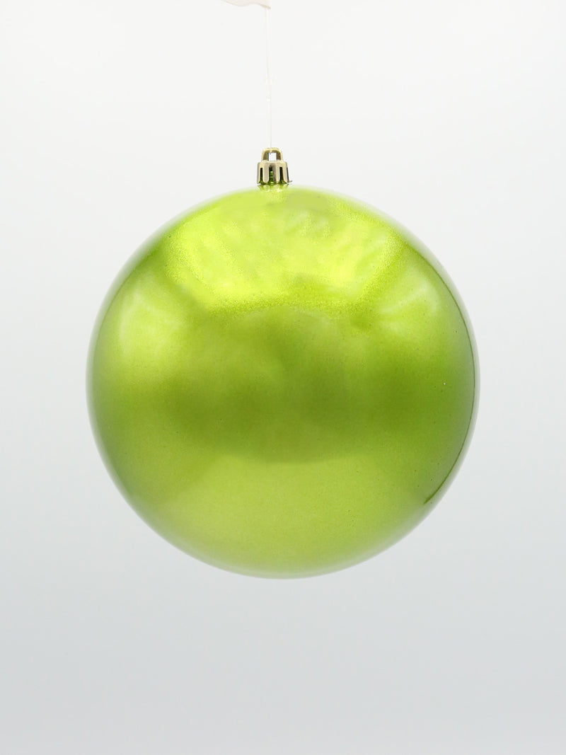 Pearl Shatterproof Apple Green Ornament