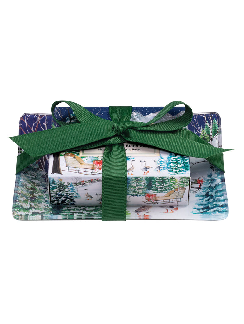 Christmas Snow Gift Soap Set
