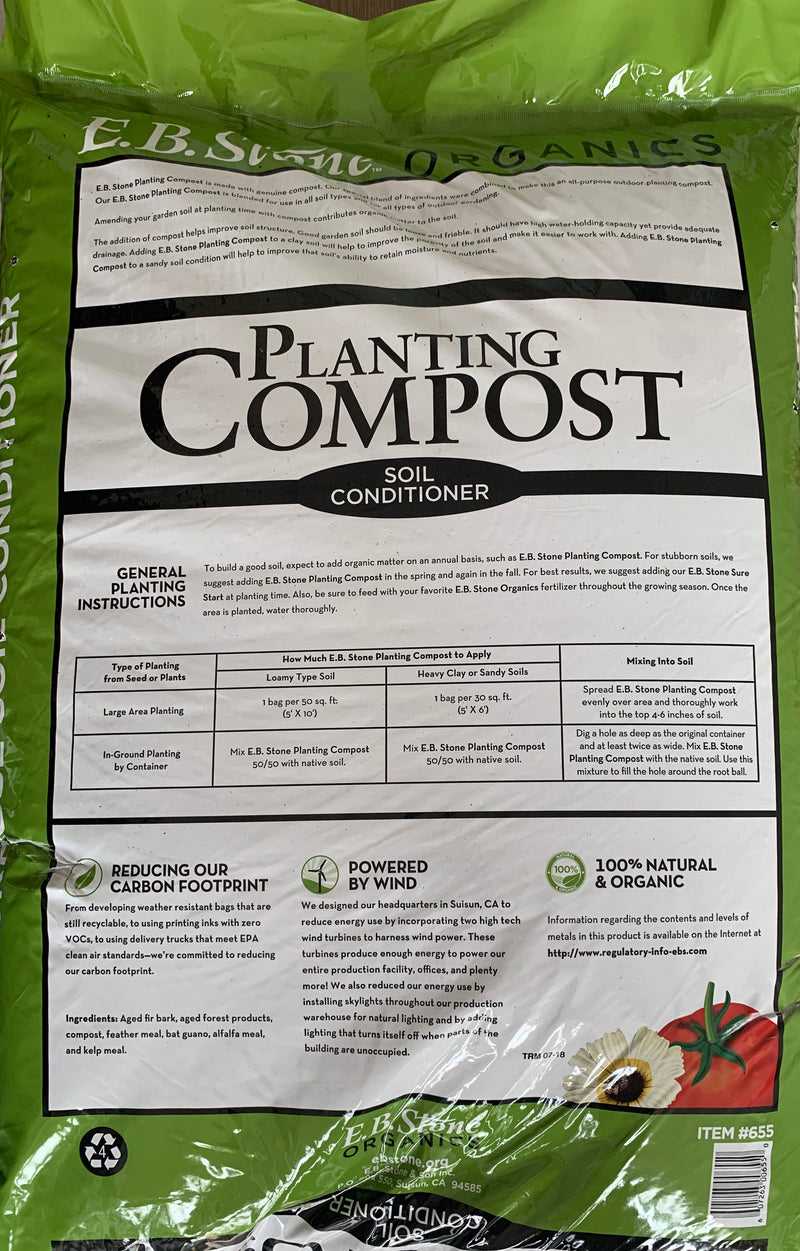 EB Stone Planting Compost 1.5 CF |  2 Bags