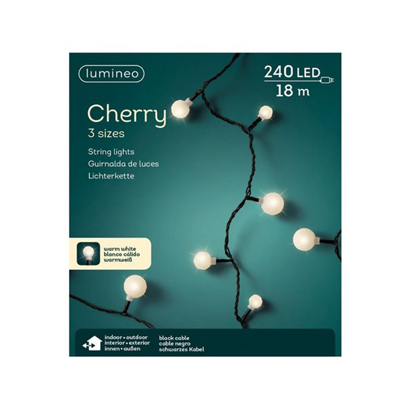 Outdoor & Indoor LED Cherry 3 Size White