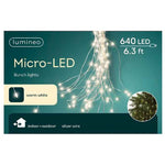 Indoor & Outdoor Micro LED Bunch 32 String 6' Swag