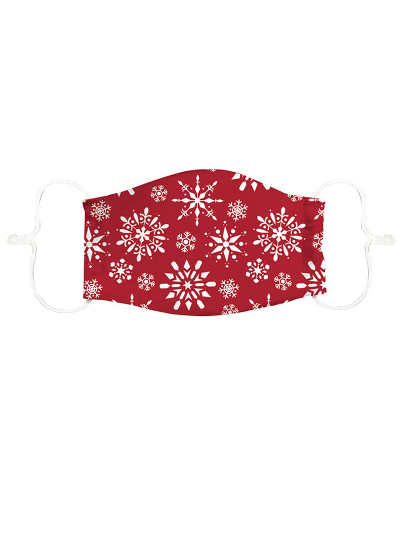 Adult Cotton Face Mask Holiday