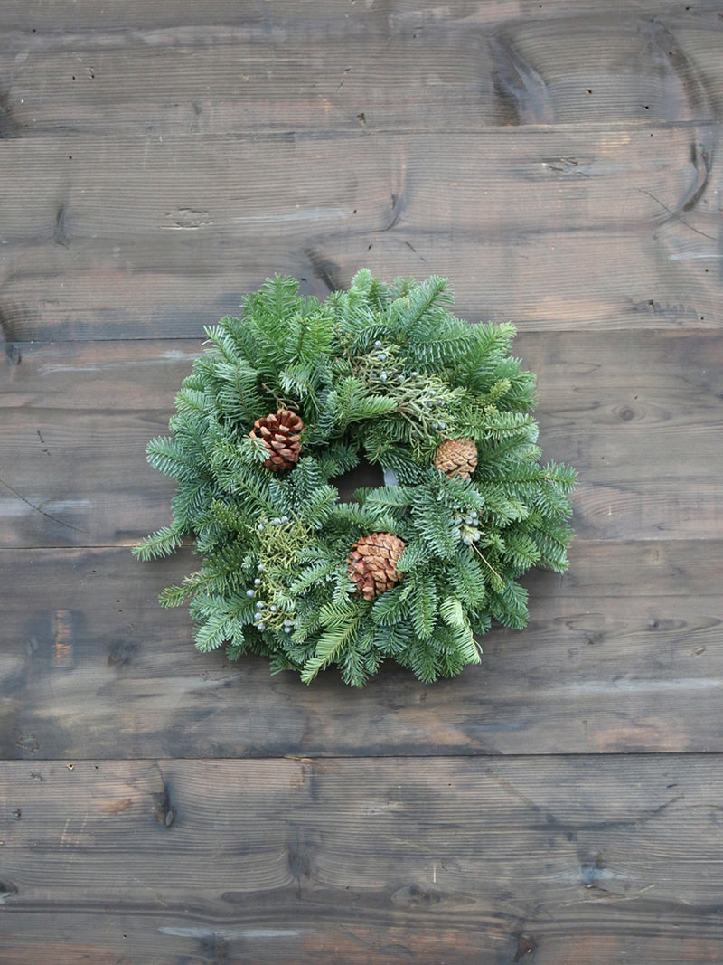 Candle Ring Wreath 6""