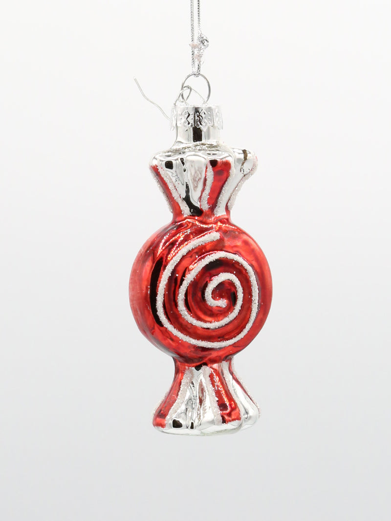 Peppermint Candy Ornament 3.5""