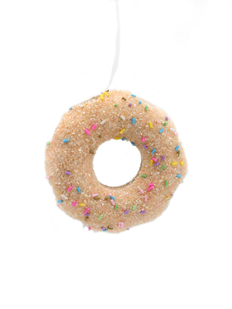 Doughnut Ornament 3.5""