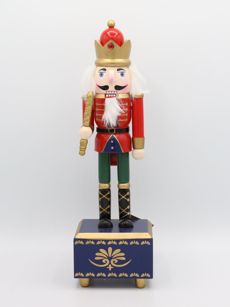 Firwood Nutcracker Music Box Red 12""