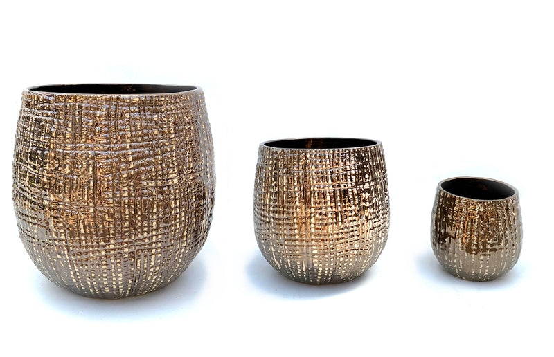 Hazel Pot Bronze