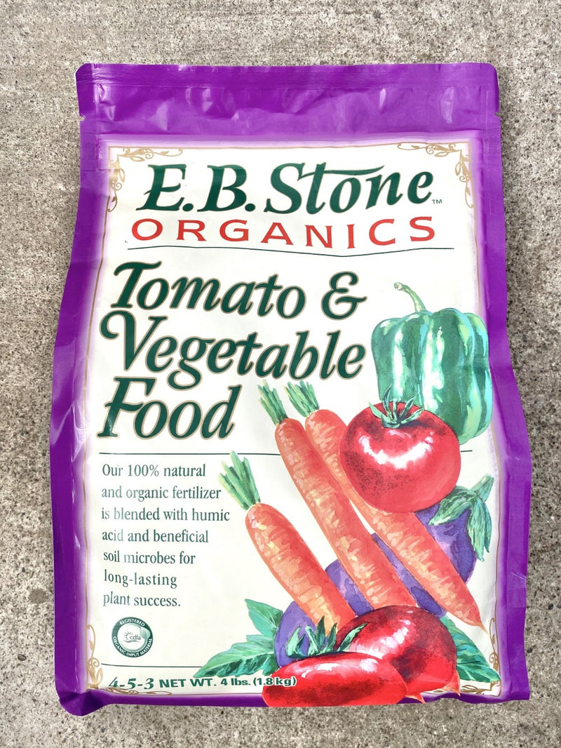 EB Stone Tomato & Vegetable Food 4-5-3