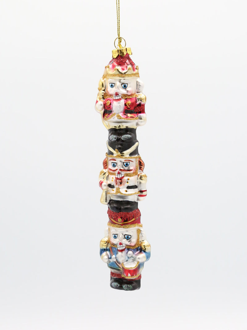 "Stacked Nutcracker 7"" Ornament"