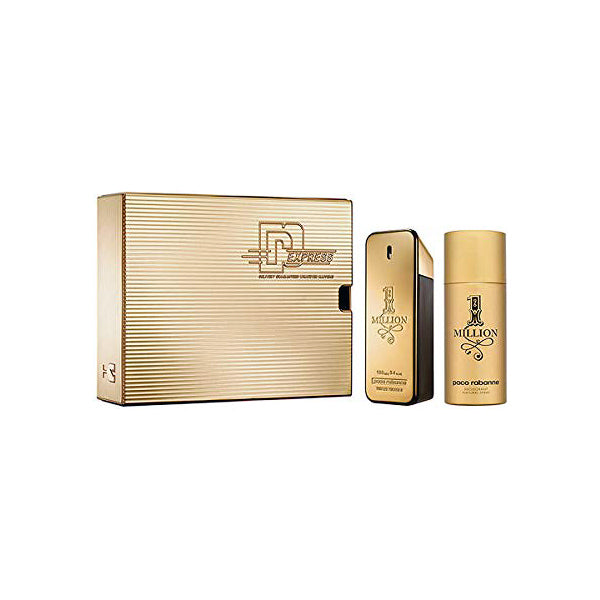 Set mit Herrenparfum 1 Million Paco Rabanne EDT (3 pcs)