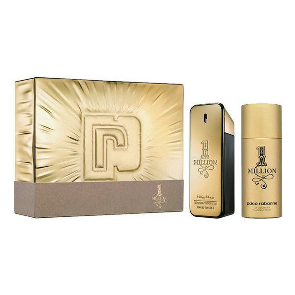 Set mit Herrenparfum 1 Millon Paco Rabanne EDP (2 pcs)