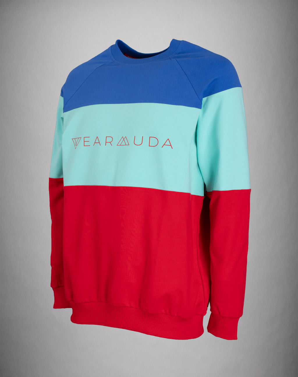 Blue Mint Red Longsleeve