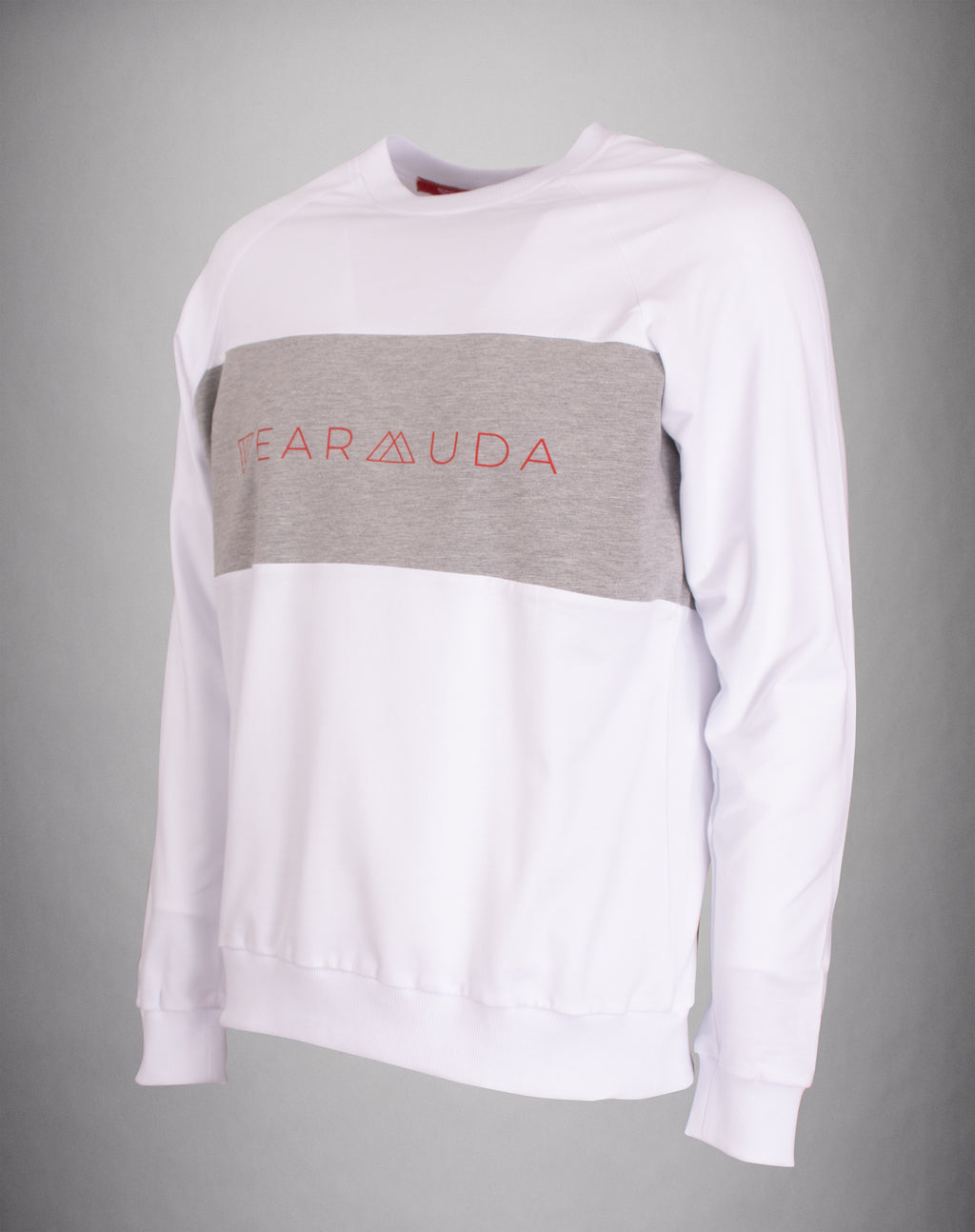 White Gray Longsleeve