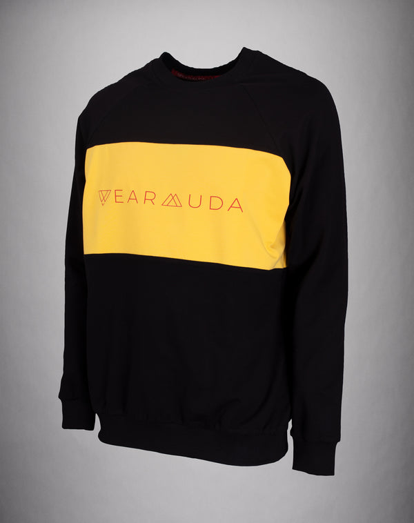 Black Yellow Longsleeve