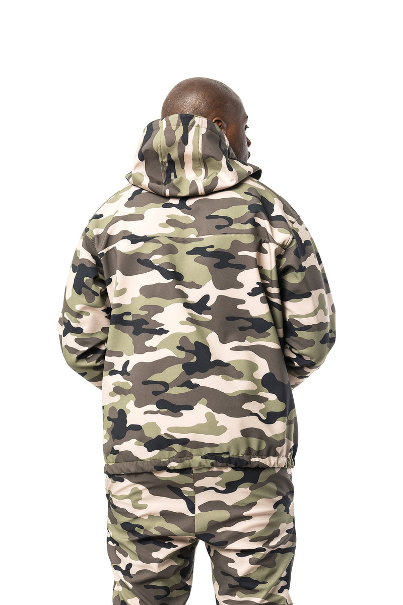 Camouflage Forest Übergangsjacke
