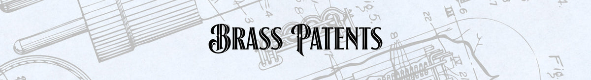 Brass Patent Prints
