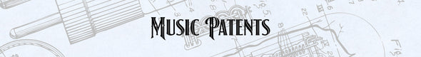 Music Patent Prints
