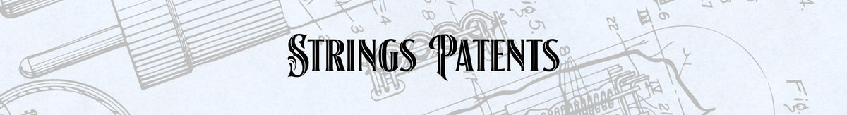 String Instrument Patent Prints